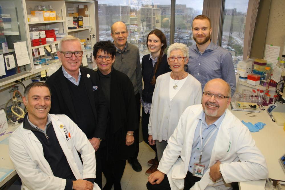 The Pooley family and the Translational Ovarian Cancer Research Team