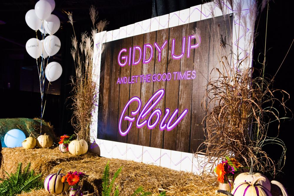 giffy up and let the good times glow