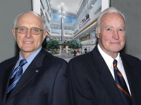 Dr. Hugh Allen and Dr. Lewis Carey