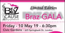 Braz for the Cause - London