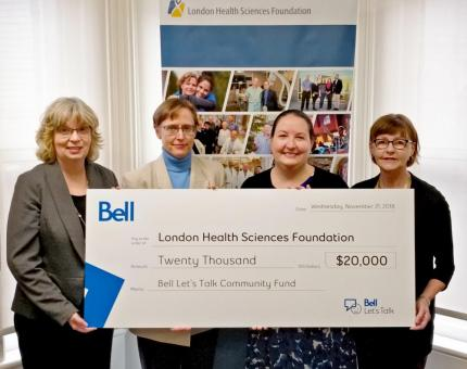 Bell Let's Talk Donates $20K to FEMAP